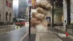 Toronto's financial district still partially closed after hydro vault fire and explosions